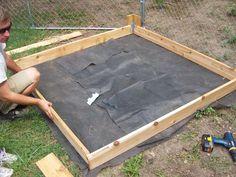 Schritt 6 Anleitung Sandkasten bauen