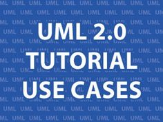 UML 2.0 Tutorial. Unified Modeling Language (UML) is a graphical way of describing software systems. In this tutorial, I'll focus on Use Case Diagrams which list the steps a system needs to follow to reach a goal. I'll walk you through the parts of a Use Case Diagram as well as the requirements of a Use Case Description.