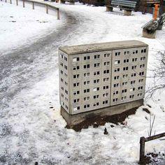 Evol: edificios miniatura