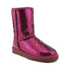 Love!! Pink sequin uggs