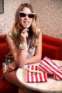 Lea Seydoux. Great shades!