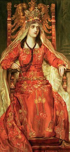 POLISH KING ! (not Queen!) Królowa Jadwiga | ^ < ~ fi fm? znam msg ? > https://de.pinterest.com/waldemar_domans/polen/