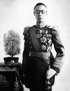 Puyi, of the Manchu Aisin Gioro clan, was the last Emperor of China, and the twelfth and final ruler of the Qing Dynasty. He ruled as the Xuantong Emperor from 1908 until his abdication on 12 February 1912.