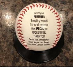 Sports Gifts Personalized Are Fantastic – Get on the Ball Photos Baseball Coaches Gift Softball Coach Gifts, Baseball Gifts, Sports Gifts, Baseball Coaches, Baseball Party, Volleyball, Soccer, Baseball Quotes, Coach Quotes