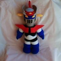 FREE Crochet Pattern (in Spanish) - Mazinger Crochet Amigurumi, Amigurumi Patterns, Amigurumi Doll, Diy Crochet, Crochet Dolls, Crochet Patterns, Diy Presents, Yarn Crafts, Crochet Projects