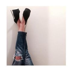 Suturday night feels... riped denim and SANTE high heels #SanteGirls Now Available in stores & online: www.santeshoes.com