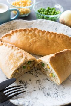 Thermomix Finger Food - Curried Chicken Pasties Recipe from The 4 Blades. #the4blades #thermomix #thermomixrecipes