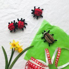 Eine Häkelanleitung für zuckersüße Glückskäfer | ♥ Zuckersüße Äpfel - kreativer Familienblog und Reiseblog ♥