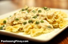 Tuna Pasta Alfredo is delicious and easy recipe that you can make for yourself. I included the recipe for the basic Alfredo sauce in this post, but you can always rely on your trusted bottled commercialized white sauce if you are always in a hurry.  For those who wanted to try this recipe from scratch, the ingredients are not that hard to find. A