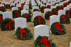 Our family participated in the wreath laying at Arlington last year and will be participating in one of the local events again this year - an amazing and humbling experience. Wreaths Across America, Miss You Daddy, Some Gave All, Remember The Fallen, National Cemetery, Local Events, In Loving Memory, Kinds Of People, Gods Love