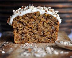 Anja's Food 4 Thought: Carrot Oat Spelt Cake