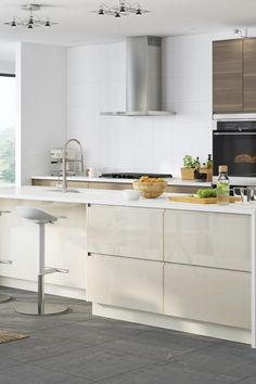 Make your IKEA SEKTION kitchen the heart of your home! A big island adds counter space for everyone to gather around to prepare food, help cook or even just to socialize!