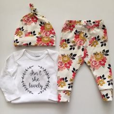 NEW Vintage Daydream/Newborn Outfit/Bring Home by KookaburraBaby