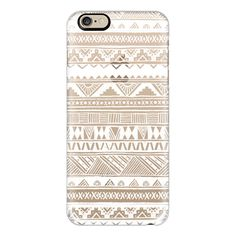 iPhone 6 Plus/6/5/5s/5c Case - Transparent White Lace Boho Geometric... ($40) ❤ liked on Polyvore featuring accessories, tech accessories, iphone case, iphone tribal case, iphone cover case, slim iphone case and apple iphone cases