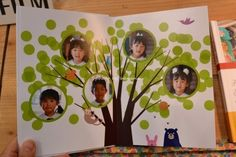 Family Tree Art, Message Card, Scrapbook Cards, Framed Art, Paper Crafts, Messages, Album, Photography, Beautiful