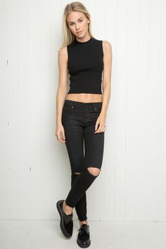 Brandy ♥ Melville | Nathalie Knit Tank - Just In