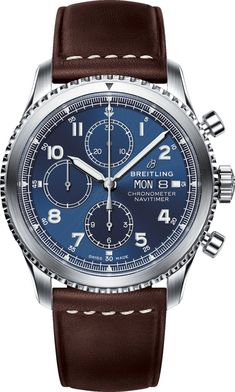 Breitling Watch Navitimer 8 Chronograph 43 #add-content #basel-18 #bezel-bidirectional #bracelet-strap-leather #brand-breitling #case-depth-14-17mm #case-material-steel #case-width-43mm #chronograph-yes #cosc-yes #cws-upload #date-yes #day-yes #delivery-timescale-call-us #dial-colour-blue #gender-mens #luxury #movement-automatic #official-stockist-for-breitling-watches #packaging-breitling-watch-packaging #style-dress #subcat-navitimer #supplier-model-no-a13314101c1x2
