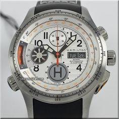 Hamilton Khaki Aviation X-Copter Men's Automatic Chronograph Watch