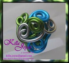 Killa Joyas y Accesorios: Más accesorios de aluminio de colores