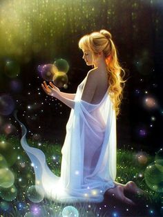 Magick in Mind Body Spirit fairy sensual Elfen Fantasy, Fantasy Art, Fantasy Images, Enchanted, February Gemstone, Double Exposition, Animated Gifs, Angel Pictures, Believe In Magic