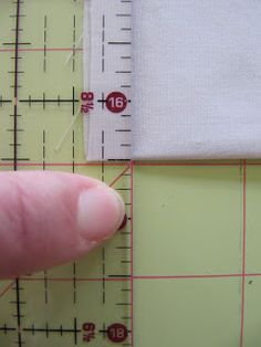 Sew Many Ways...: How to Cut Fabric Squares with a Rotary Cutter...