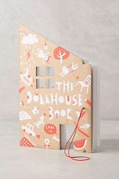 Dollhouse (blank) Coloring Book - anthropologie.com