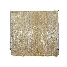 20FT Champagne Big Payette Sequin Curtain Panel Backdrop Wedding Party Photography Background - 1 PCS   TableclothsFactory.com – tableclothsfactory.com