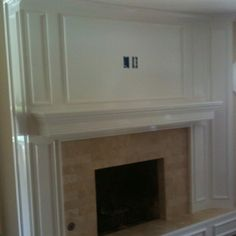 How To Reface A Brick Fireplace With Wood Fireplace Mantel