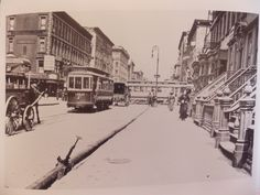 1912 Lexington E 58 St Trolley Bloomingdales NYC New York City 8 x 10 Photo | eBay