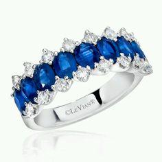 LeVian - blue & white beauty at Keswick Jewelers in Arlington Heights, IL 60005 www.keswickjewelers.com