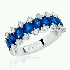 LeVian - blue & white beauty at Keswick Jewelers in Arlington Heights, IL 60005 www.keswickjewelers.com