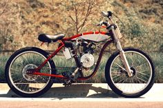 motorized bicycle 1 DMB Speedster by Wolf Creative Customs