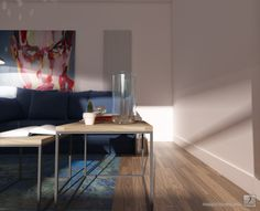 Interior Design - Project of the room - 3D rendering - www.rsquare.pl -  Project Karolina Janczy © janczyart.com