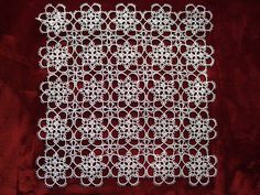 Mat made by Nono Tatting Art's