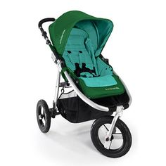 Bumbleride!  Can get Maxi Cosi adapter to use with Cybex Aton infant seats :)