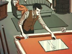 """To level a billiard table or a piece of machinery in all directions at once, we advised in November 1937, use a slab of flat glass and a ball bearing. """"You can note the low spot by observing in which direction the ball moves."""" Shim the legs to level the surface in all directions."""