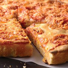 "No-Knead Deep-Dish Pizza - No kneading? No problem; this tender, tasty pizza doesn't ""knead"" it!"