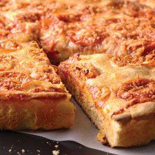no knead deep dish pizza
