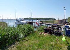 Aquarell malen an der Ostsee | Hafen von Groß Zicker (c) FRank Koebsch (2) #wirsindinsel! #rügen