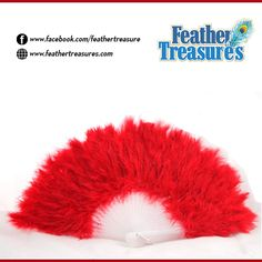 Make striking, soft and beautiful #feather fans with #Turkeyfeathers