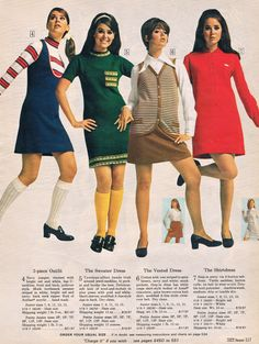 Colleen Corby in Sears catalog 60s