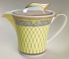 Rosenthal Continental RUSSIAN DREAM Tea Pot 2061195