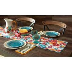 The Pioneer Woman Flea Market Reversible Runner - Walmart.com