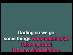 Karaoke - Falling In Love With You - Karaoke, Falling In Love, Meant To Be, Youtube, Life, Youtubers, Youtube Movies