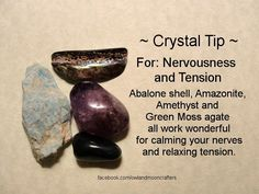Healing crystals for tension Crystal Magic, Crystal Healing Stones, Stones And Crystals, Gem Stones, Chakra Crystals, Chakra Stones, Amethyst Crystal, Minerals And Gemstones, Rocks And Minerals