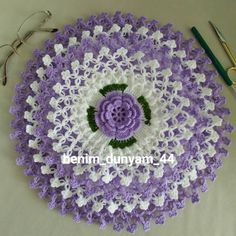 """525 Beğenme, 18 Yorum - Instagram'da benim dünyam_MALATYA (@benim_dunyam_44): """"Evet ilki bitti ikincisi yolda duygu hanımın siparişleri çif çift🌼🌼🌹🌹#lifyapımı…"""" Crochet Home, Free Crochet, Crochet Doilies, My World, Free Pattern, Elsa, Blanket, Instagram, Thoughts"""
