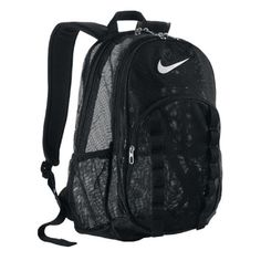 Nike Brasilia 7 Large Mesh Backpack: If you have a lot of gear to carry, you need the right backpack. The Nike Brasilia 7 L Mesh Backpack is up to the task. Black Backpack, Adidas Backpack, Top Backpacks, School Backpacks, Rucksack Bag, Backpack Bags, Top Backpack Brands, Mochila Nike, Accessories