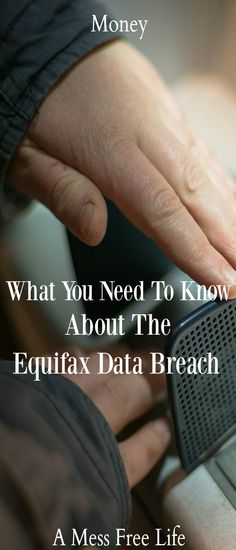 Concerned about the biggest data breach in history? The Equifax Data Breach has serious ramifications for millions of Americans. Find out how to protect yourself. | Money | Budgeting | Identity Theft | Protection