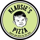 Deep dish from Klausie's Pizza truck.