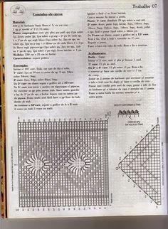 Home Decor Crochet Patterns Part 151 - Beautiful Crochet Patterns and Knitting Patterns Diy Crafts Knitting, Diy Crafts Crochet, Crochet Home Decor, Crochet Table Runner, Crochet Tablecloth, Crochet Doilies, Crochet Stitches Patterns, Doily Patterns, Knitting Patterns